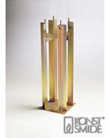 Закладной элемент для установки столба