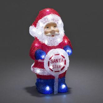 Светодиодный Санта Клаус